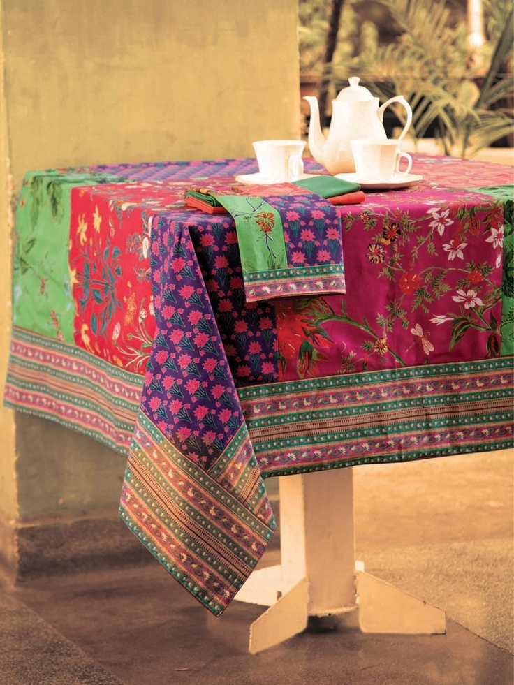 Phoebe Patchwork Tablecloth