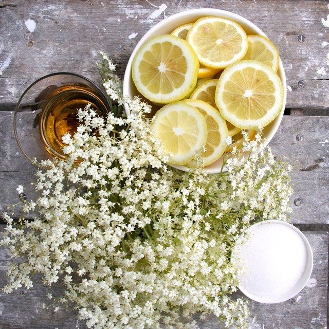 Sunday #FoodPorn: Breathtaking Elderflower Ideas for Summer
