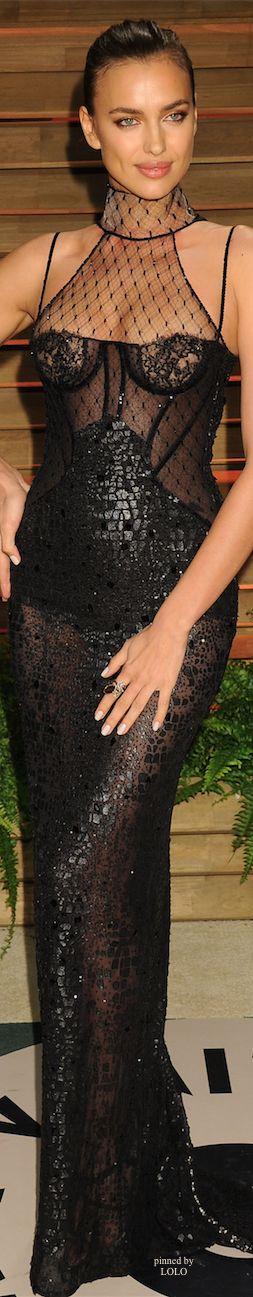 Irina Shayk 2014 Vanity Fair Oscar Party