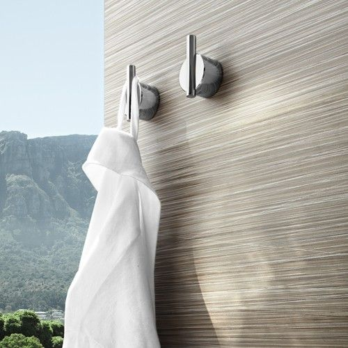 A wall hook you can depend on  the blomus Duo Wall Hook can handle the   Modern  BathroomsModern  Best 25  Robe and towel hooks ideas on Pinterest   Rustic towel  . Modern Bathroom Door Hooks. Home Design Ideas