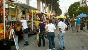 Tropical Park, Miami is now food truck central. Yum. (Bourdain, The Layover)