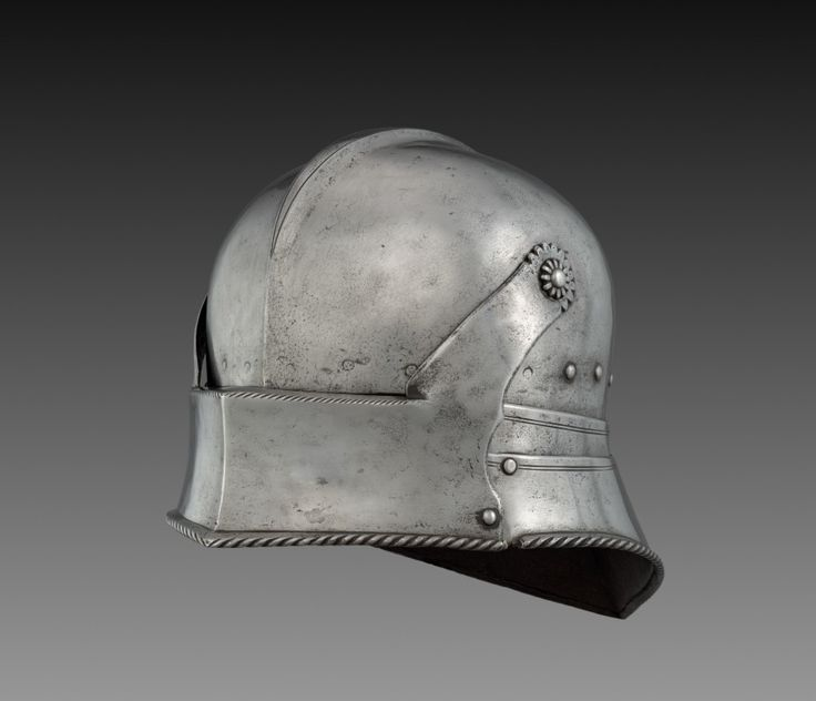 Visored Sallet, c. 1490-1500 Germany, 16th century steel, Overall - h:21.00 w:25.00 d:42.00 cm (h:8 1/4 w:9 13/16 d:16 1/2 inches) Wt: 2.48 kg
