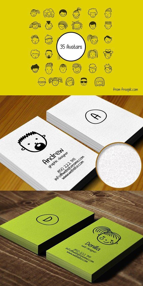 Avatar Individual Business Card