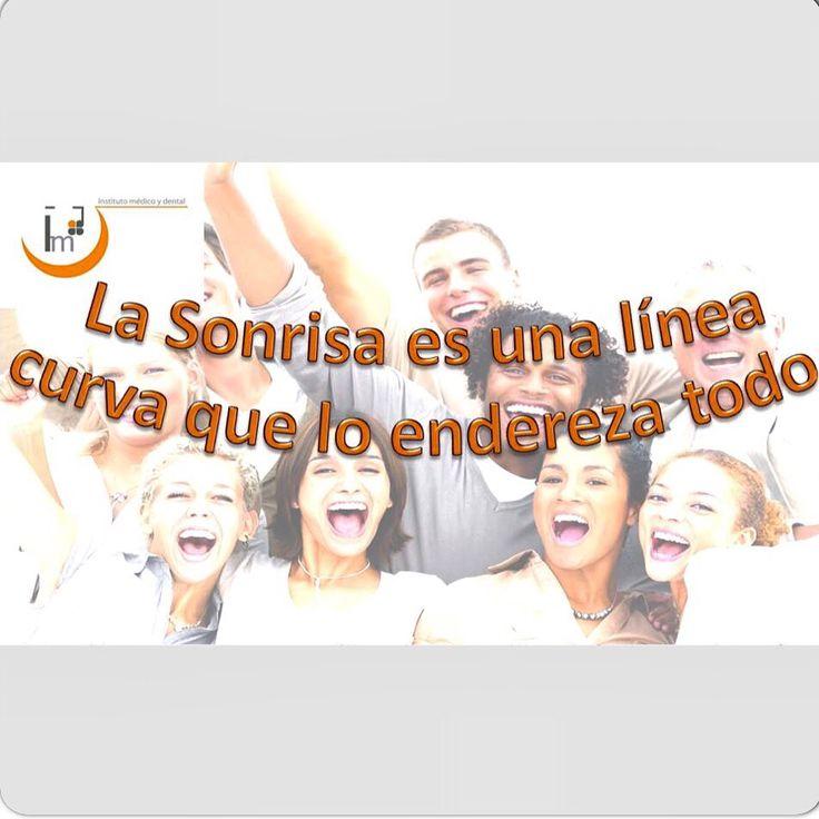 El mundo es como un espejo, si le muestras mala cara, te pondrá mala cara; sonríe y te sonreirá #clínicadental #dentista #odontología #implantes #prótesis #ortodoncia #estética #valencia #elpuig #institutomedicoydental #IMD