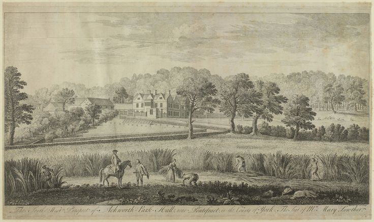 Ackworth Park near Pontefract, Yorkshire, formerly part of the Bright estate, passed into the hands of the Rockingham estate via the heiress, Mary Bright, who married the 2nd Marquess.