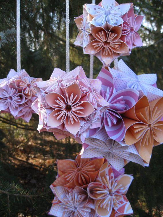 1000 Images About Kusudama Flowers On Pinterest