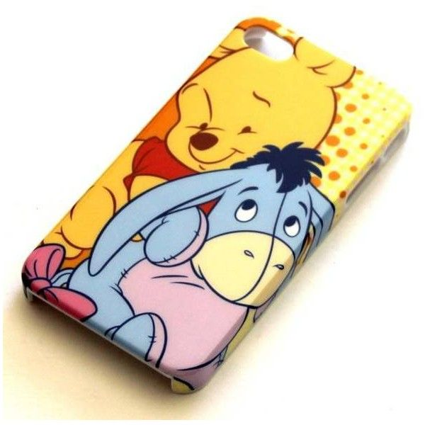 Disney Winnie the Pooh Eeyore iPhone 4 4S case FREE POST Mobile ❤ liked on Polyvore