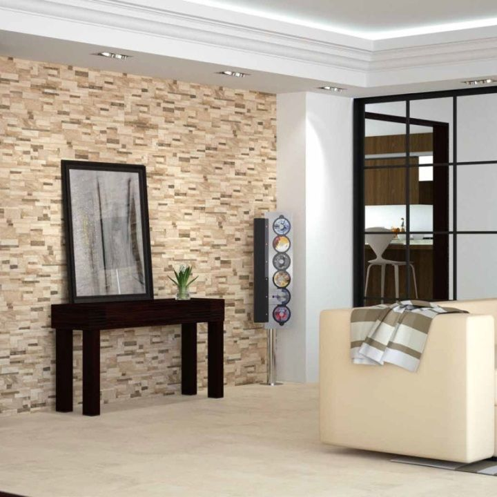 These Brick Effect Tiles Are Perfect As A Feature Wall Tile And Are The  Latest Tile. Wall Tiles DesignLiving Room ...