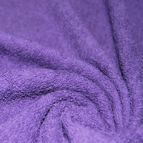 Double Terry Towel Fabric (thin) dark shades 330 gr