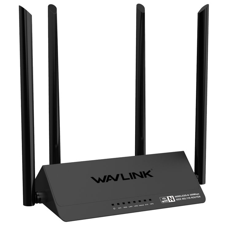 Wavlink 521R2P 4x5dBi Antennas 300Mbps APP Control Wireless Wifi Router Repeater Signal Amplifier