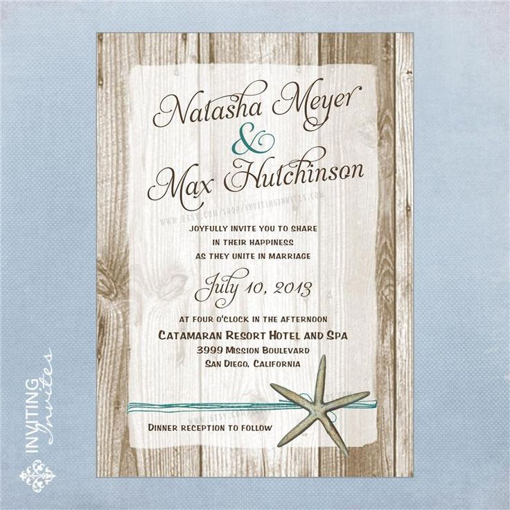 The 1835 best Tropical Wedding Invitations images on Pinterest ...