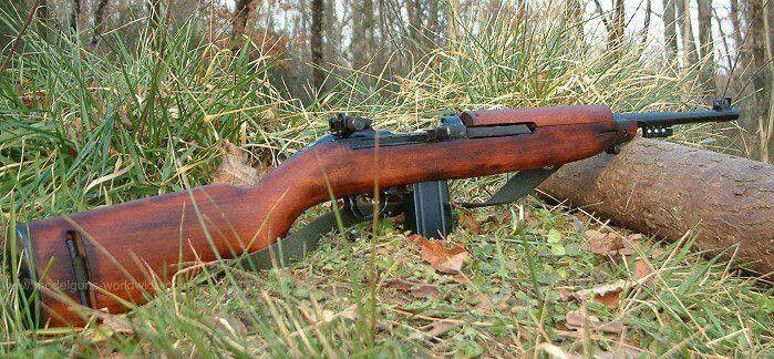 M1 Carbine  I am currently in search of this weapon.  They are nearly impossible to find and those who have them do NOT want to part with them.
