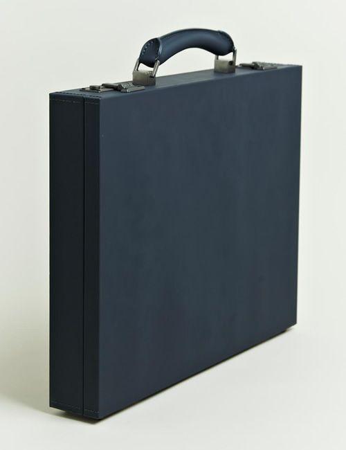 Lanvin Monsieur Briefcase. Black. Minimal. To the point.