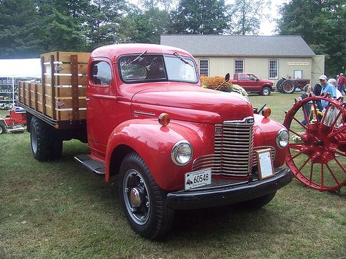 1948 International  KB-5 stake truck by Bluejacket, via Flickr