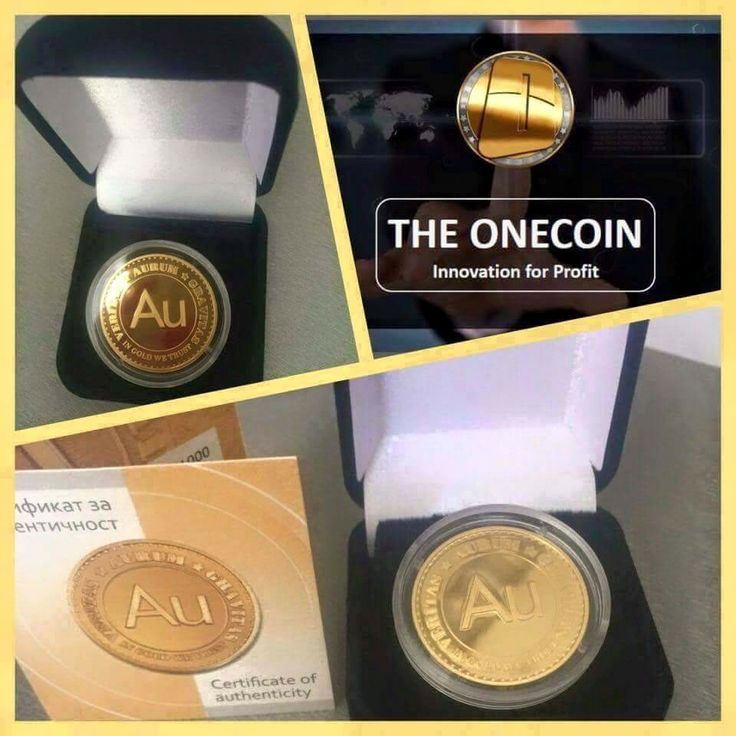 CryptoCurrency BACKED BY GOLD  OneCoin is not a copy of a BITCOIN. It is new generation of crypto-currency. You can find same, proven qualities from OneCoin that BITCOIN has, but there is also so much more in OneCoin.  Join NOW and be one of the first miners of OneCoin! http://bit.ly/One_Coin  World has learned from BITCOIN what crypto-currencies can do for peoples lifestyles IF they start they start now.