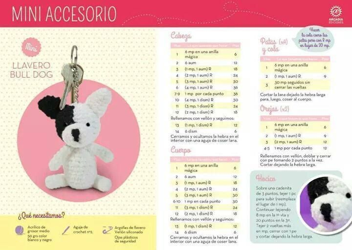 63 best llaveros crochet patrones en español images on Pinterest ...