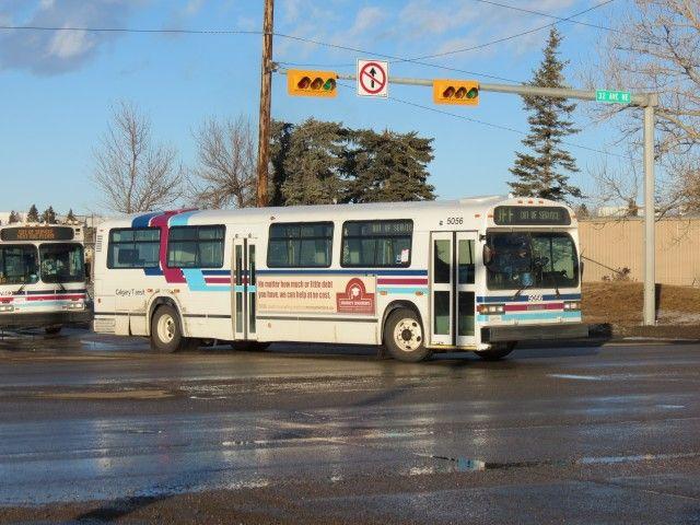 MCI Classic bus Calgary Transit