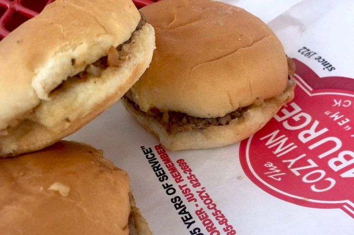 #53 Cozy Burger, Cozy Inn, Salina, Kan. from The 101 Best Burgers in America for 2017 Slideshow