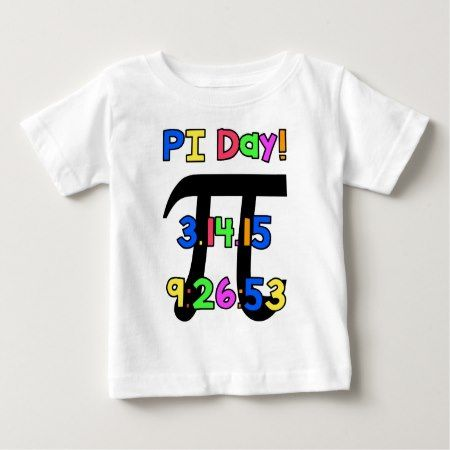 PI Day! Baby T-Shirt - tap to personalize and get yours