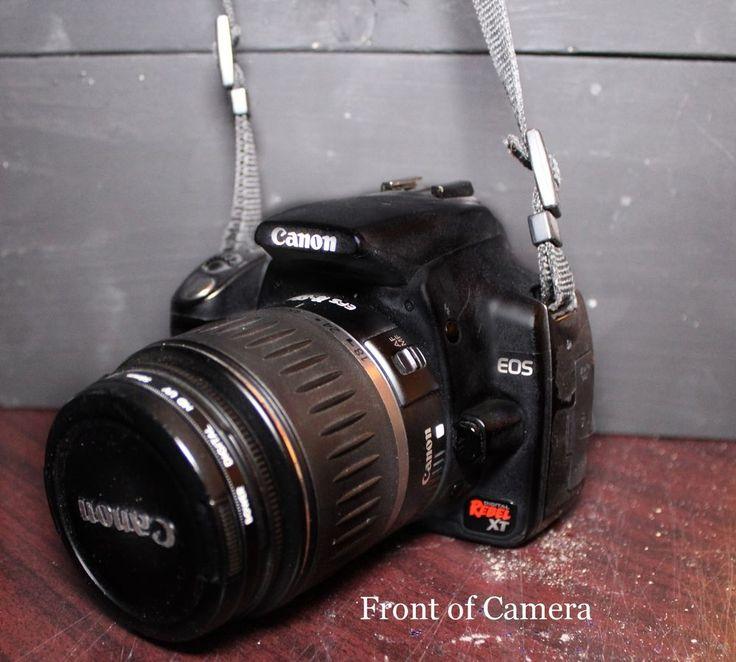 Canon EOS Digital Rebel XT / EOS 350D 8.0 MP Digital SLR Camera - Black #Canon