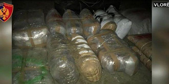 Vlorë: Sekuestrohet një gomone me 750 kg kanabis