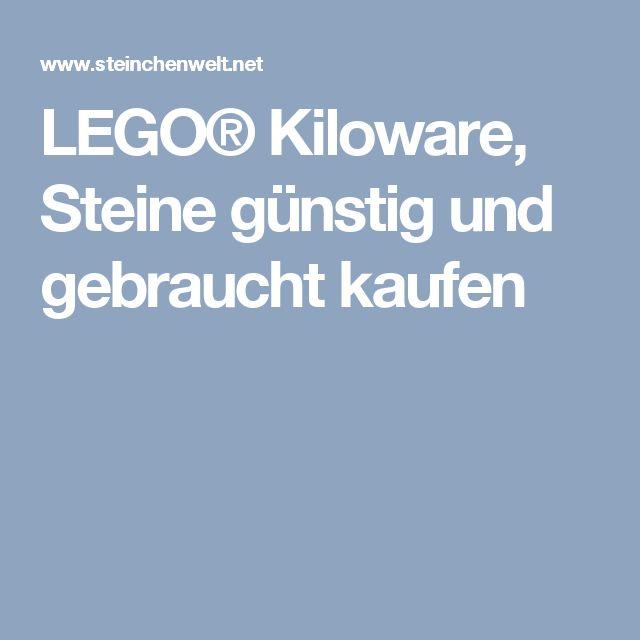 LEGO® Kiloware, Steine günstig und gebraucht kaufen