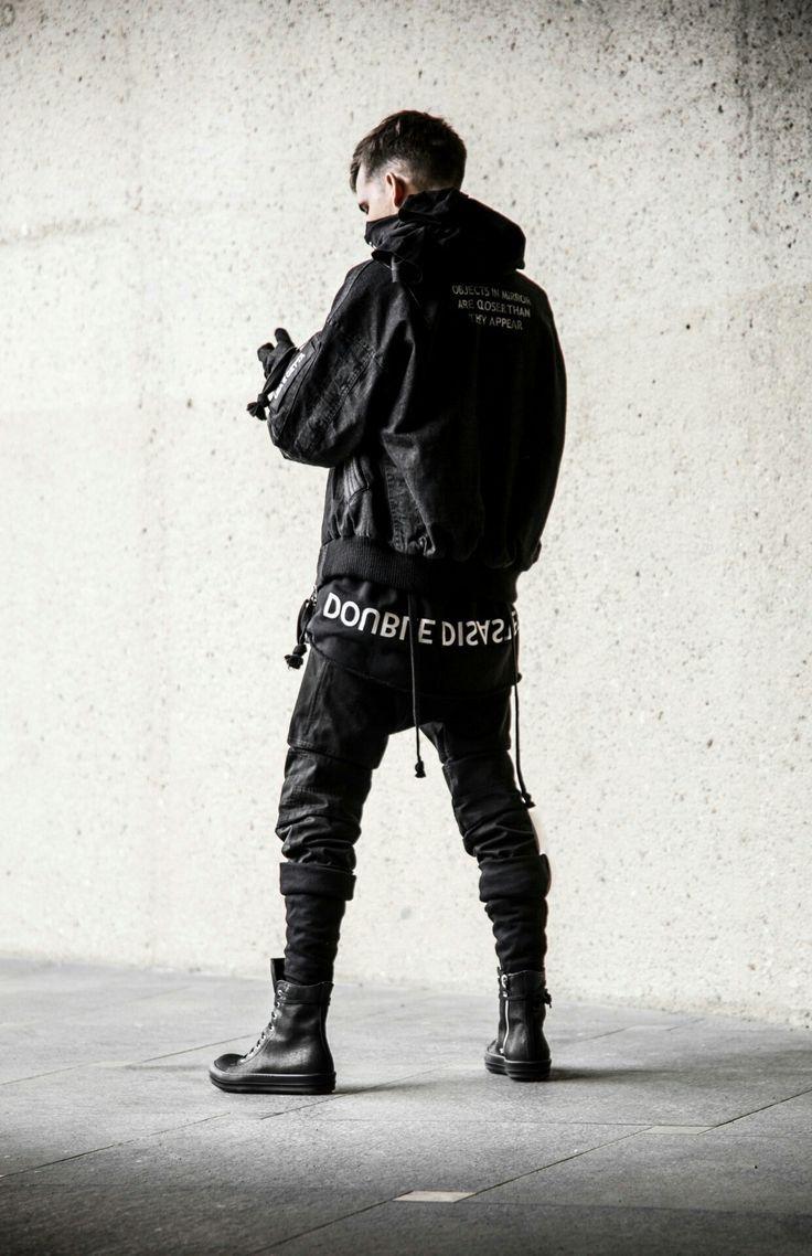 futuristic fashion | Japanese streetwear, Streetwear