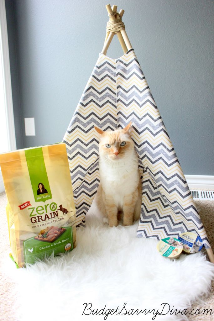 how to make a cat teepee this is what you need 4 dowels cat lovers 27 diy