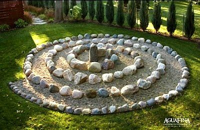 Labyrinths In Childrens Play Areas