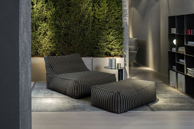 Zoe in the Outdoor Version. Design by Lievore Altherr Molina.  A special piece that makes your living or garden the image of comfort and serenity.