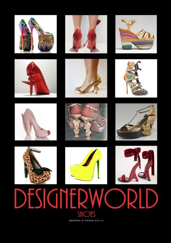 DESIGNERWORLD - SHOES
