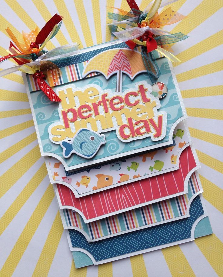Artsy Albums Scrapbooking Kits and Custom Designed Scrapbook Albums by Traci Penrod: A Perfect Summer Mini Album