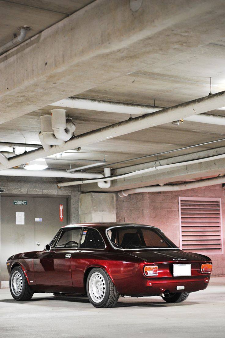 This Alfa Romeo GT 1300 Junior is for Life - Photography by Lucas Scarfone