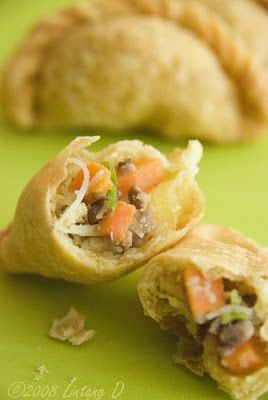 """COOK UNCOOKED"": Pastel Goreng (Indonesian Fried Pastry)"
