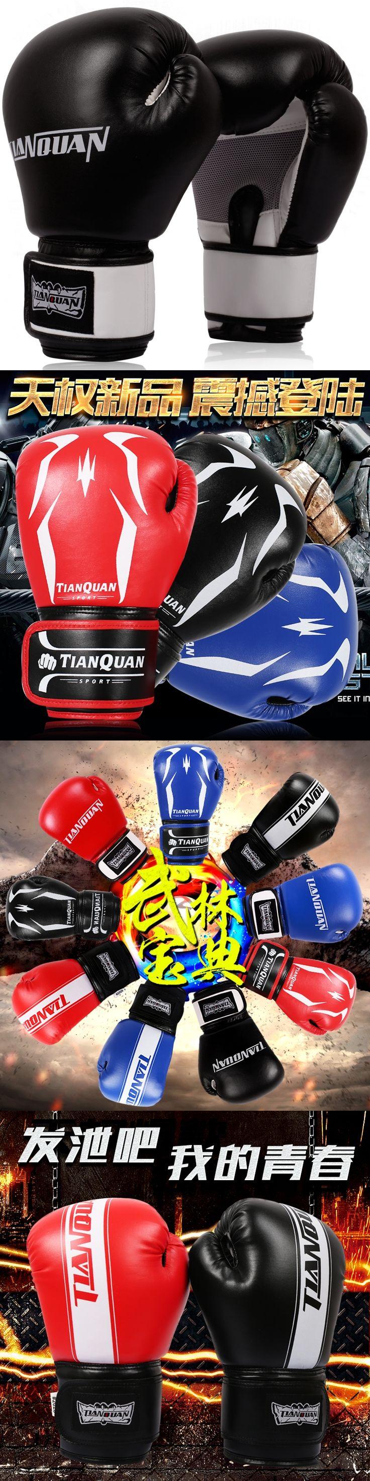 Professional boxing gloves gloves adult game Sanda training professional Muay Thai boxing sandbag grabbling