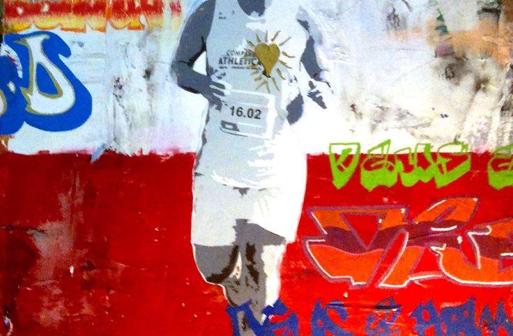 Grisolia, 2013 Mixed media on canvas | 23,6 x 19,6 in Técnica mista sobre tela | 60 x 50 cm #arte #art #artwork #contemporaryart #artecontemporanea #urbanart#streetart #arteurbana #graffiti #graffitiart #spraypaint #sprayart #claudioczart #posca #poscaart #commissions #mixedmedia