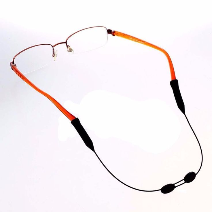 Venta caliente Deportes Al Aire Libre Gafas de Cadena Titular Espectáculo Gafas Antideslizante Cuerda Banda de gafas de Sol Correa para el Cuello Elástico Cable