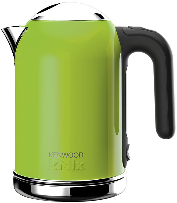 Kenwood KMix SJM020GR Waterkoker  Kenwood kMix SJM020GR: Stijlvol in elke keuken! Met de Kenwood SJM020Gr haal je een zeer stijlvolle en veilige waterkoker in huis. Hij beschikt over een aantal innovatieve functies zoals een automatische droogkookfunctie. Dankzij zijn compacte formaat en waterreservoir van 1 liter past hij met gemak opelk aanrecht. Mede dankzij het SureGrip handvat en automatische flop top deksel is hij zeer gebruiksvriendelijk en door zijn limegroene kleur met RVS details…