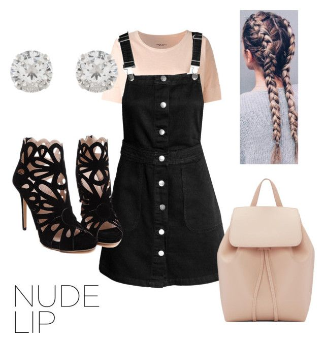 """""""Nude Lips💋"""" by sinihanna on Polyvore featuring Roberto Collina, Mansur Gavriel and Accessorize"""