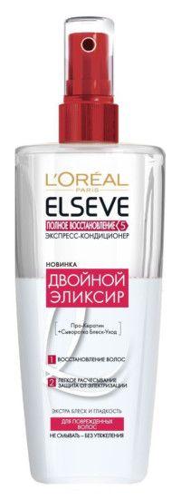 L'Oréal Paris, экспресс-кондиционер «Двойной эликсир», 340 руб.