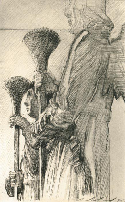 Музей рисунка - Александр Андреевич Ливанов (род. 1938г).