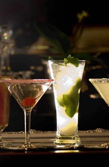 Cocktails on offer at The New Acqua Beach in Weymouth ... feeling thirsty now !!!