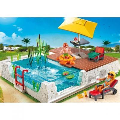 Swimmingpool Passend Zur Modernen Vila Von Playmobil