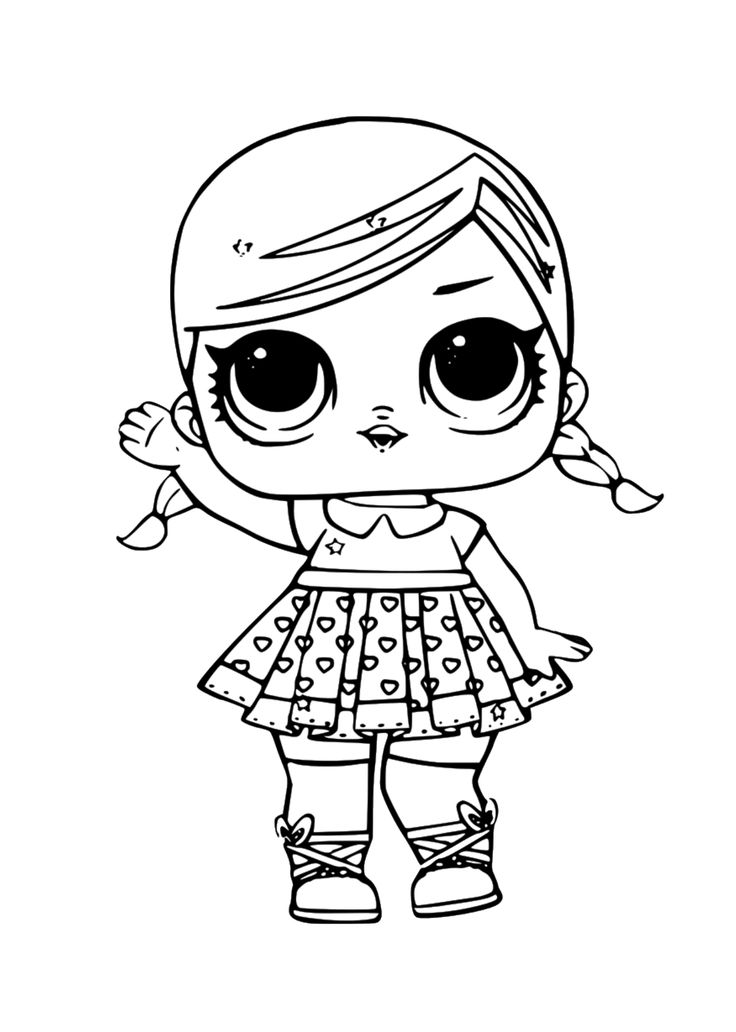 lol surprise dolls | lol coloring page | lol surprise