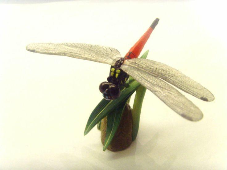 Yujin Kaiyodo Natural Monuments Red Dragonfly / Dragon Fly