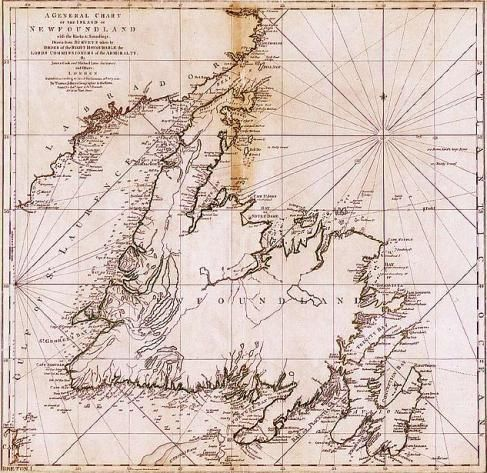 Best Newfoundland Map Ideas On Pinterest Newfoundland And - Newfoundland map