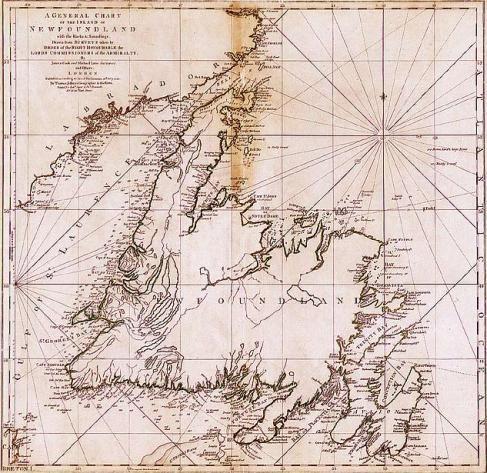 Old Newfoundland Maps by Newfoundland.ws