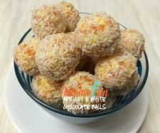 Recipe Apricot and White Chocolate Balls by leonie - Recipe of category Desserts & sweets