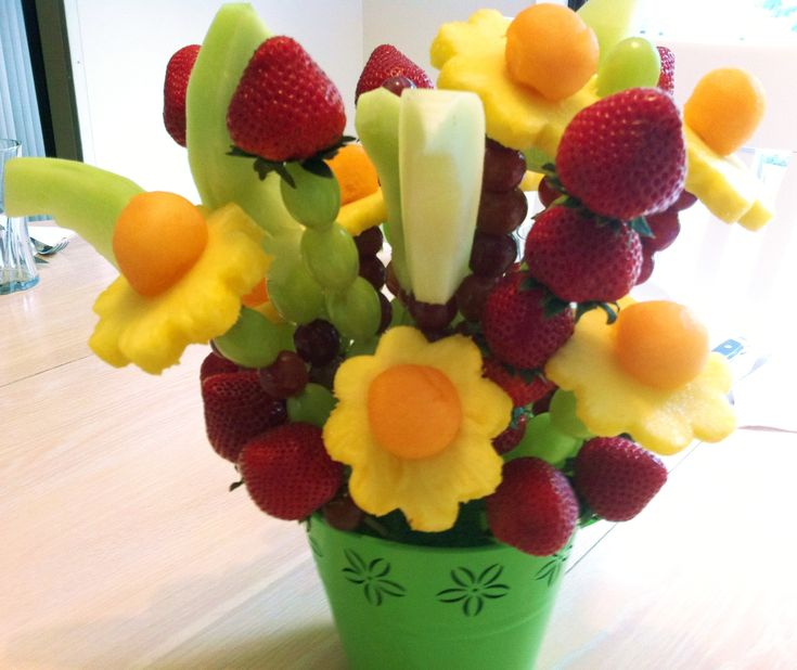 Fruit Flower Baskets Saskatoon : Best ideas about edible fruit baskets on