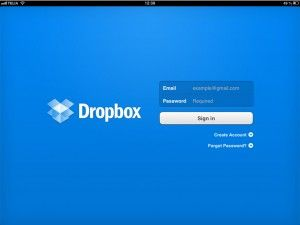Dropbox för iPad tutorial